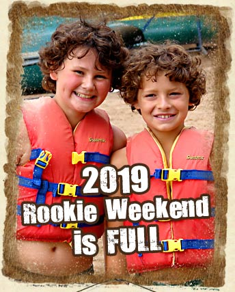 Rookie Weekend Enrollment is Limited
